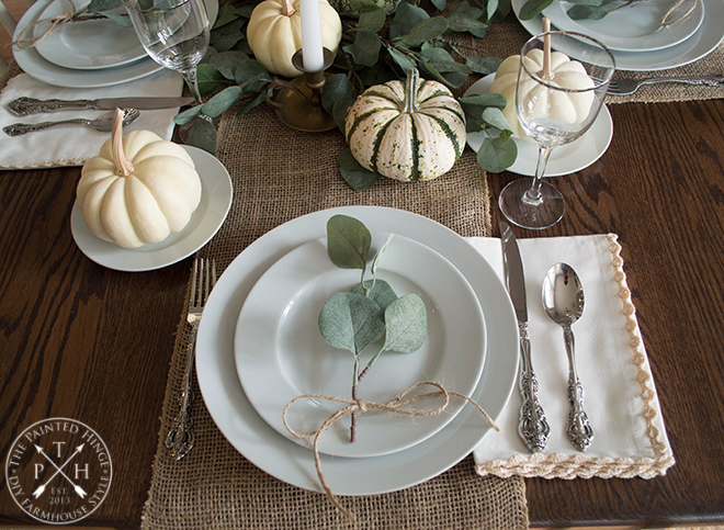 Thanksgiving Tablescape Inspiration