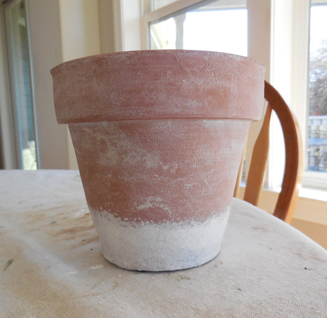 How To Age Terra Cotta Pots With Chalk Paint