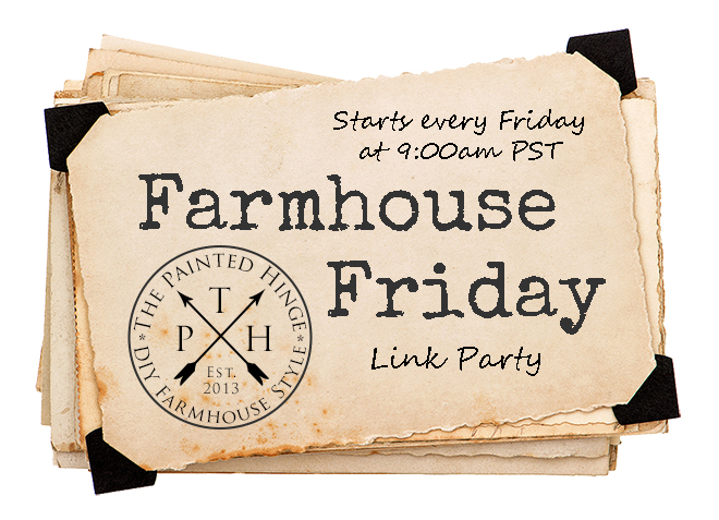 Farmhouse Friday Link Party