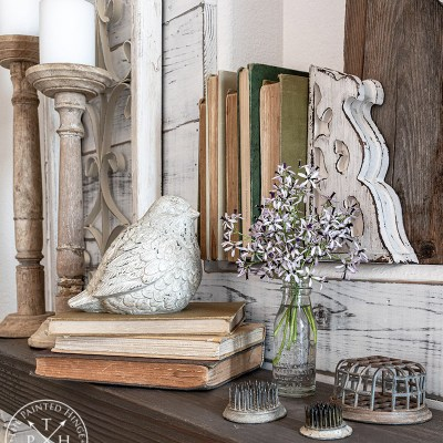 Three Ways to Use Vintage Books in Your Decor