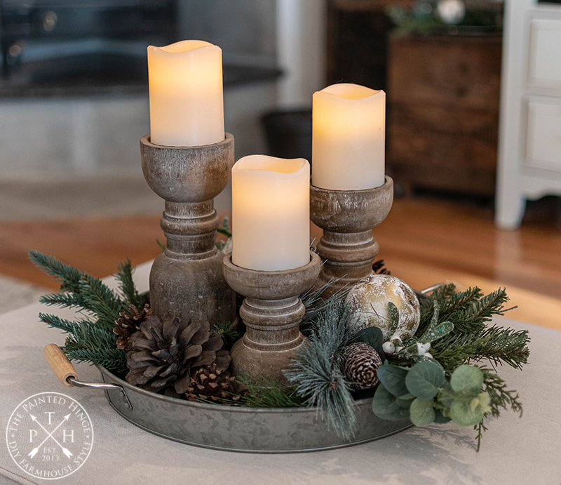 A Galvanized and Birch Christmas