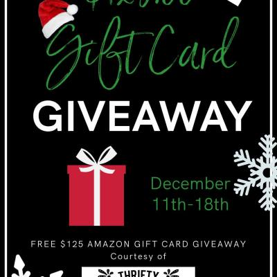 $125 Amazon Gift Card Giveaway from The Thrifty Style Team!
