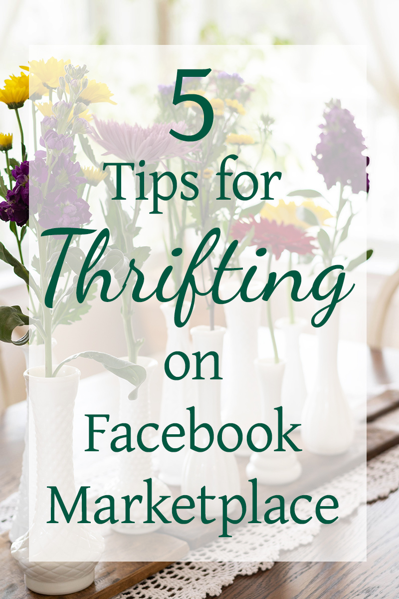 5 Tips for Thrifting on Facebook Marketplace