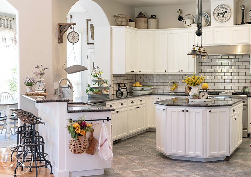 Kitchen Counter Ideas for Spring