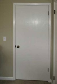 The Painted Surface - Painting A Plain Flat Door