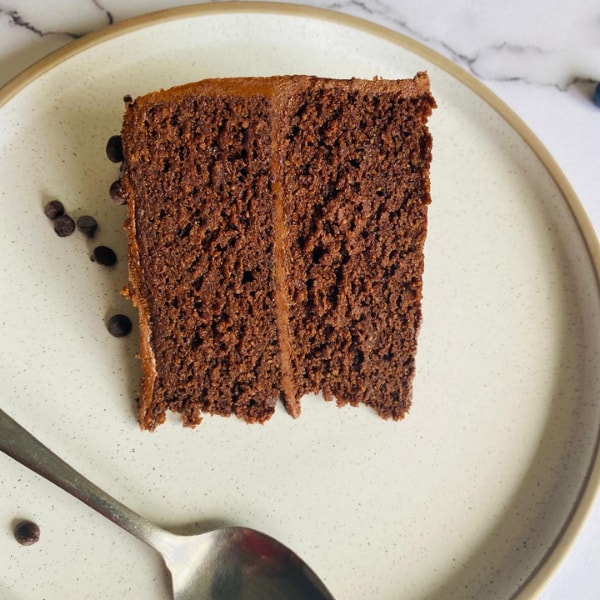 Vegan chocolate cake in Toronto