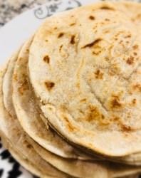 Cassava Flour Tortillas - Gluten Free