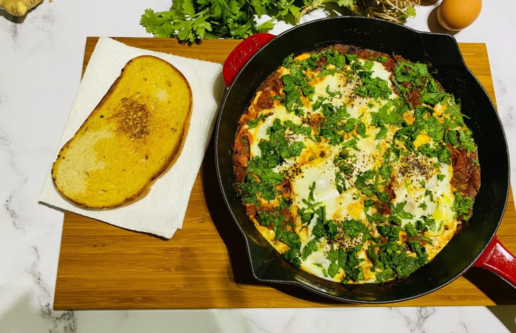 Shakshuka - Paleo, Keto, healthy breakfast recipe