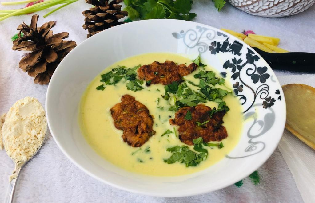 Vegan Kadhi Pakora