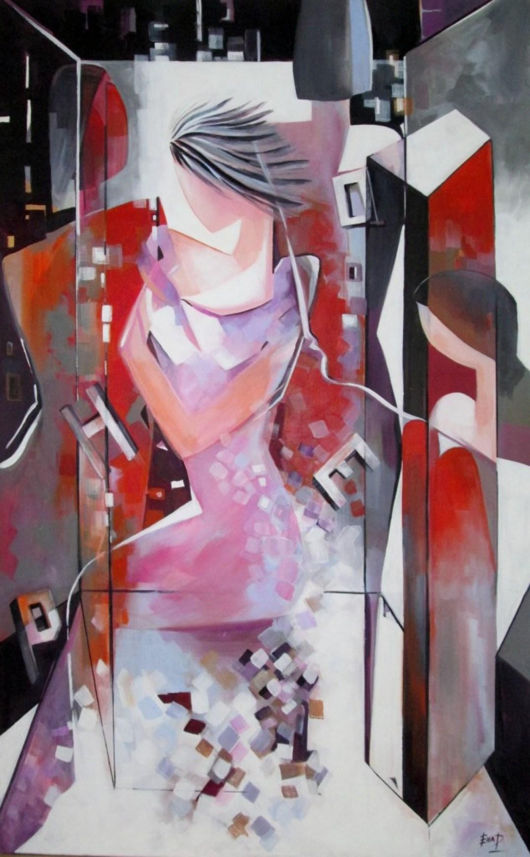 Hope 75 x 120 cm Acrylic on canvas