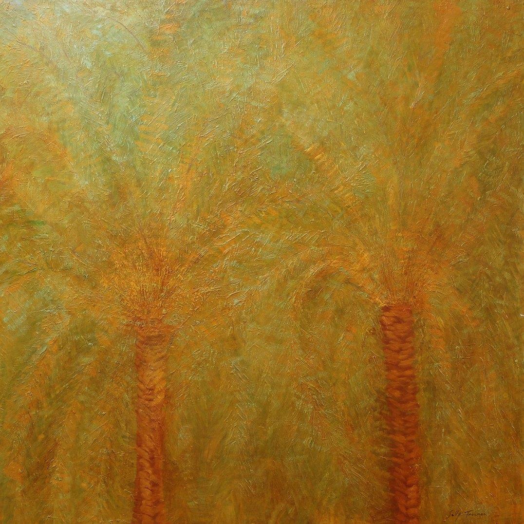 Sally-Trueman-Palm-Trees-in-Nice-Oil