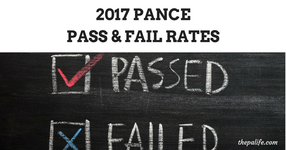 PANCE Failure and Pass Rate Physician Assistant