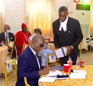 Hon. Justice Marshal Umukoro and Desmond Orisewize Esq