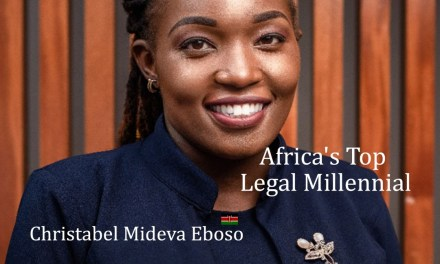 Christabel Mideva Eboso: Africa's Legal Millennial