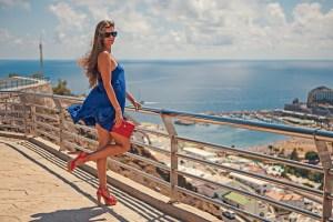 legs summer dress
