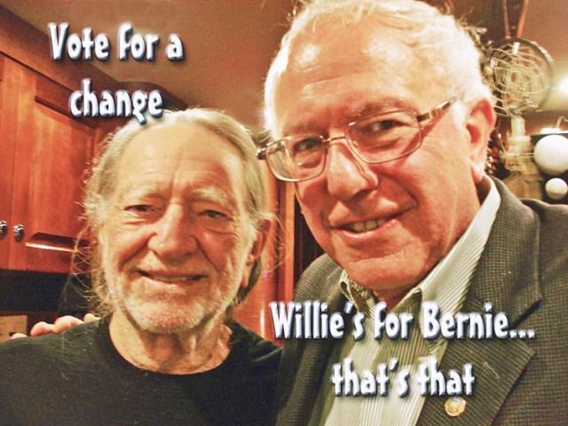 Willie and Bernie