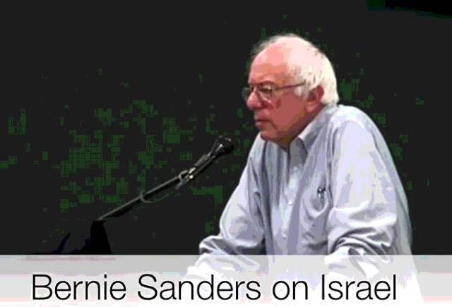 Bernie on Israel