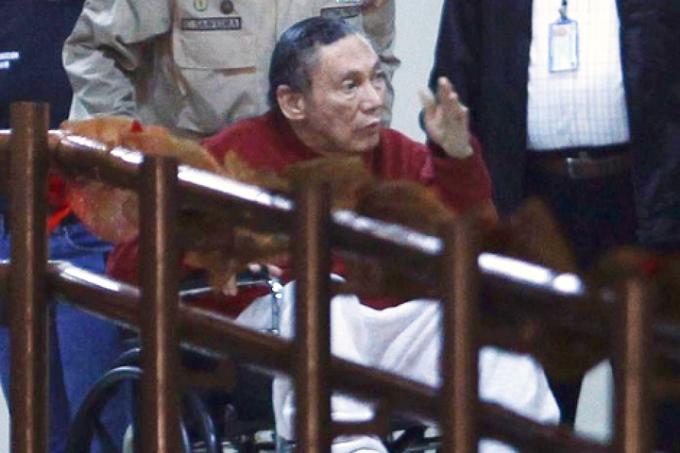 Manuel Antonio Noriega, two years ago. Photo by SERTV.