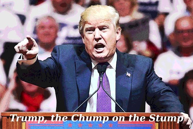 the chump on the stump