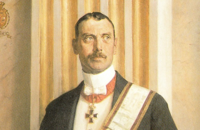 King Christian X of Denmark, who stayed in his country and retained his title during the German occupation. There is a legend that he wore a yellow star in solidarity with Danish Jews, which is is not actually true. What is true is that under the king's moral leadership and with the assistance of cops, fishing boat owners and Danes from all walks of life, when the Nazis came to round up Denmark's 7,000 or so Jews nobody would turn them in and most were able to flee to neutral and unoccupied Sweden. Only about 500 Danish Jews were caught and sent to concentration camps.