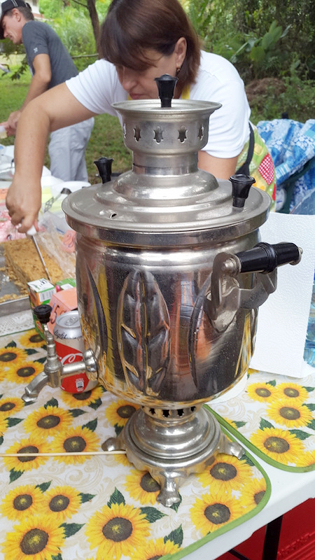 fancy samovar