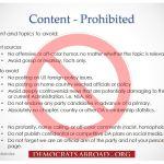 Capture bans