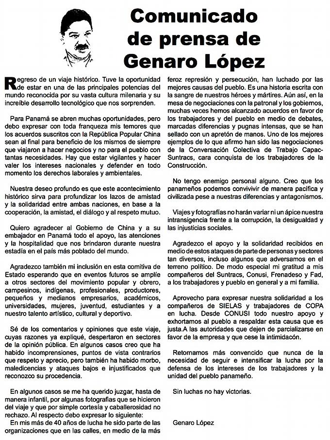 Genaro López