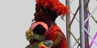 Congo dancer