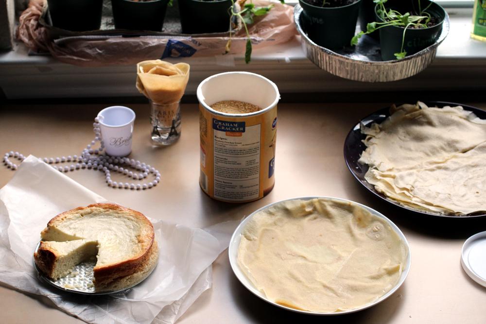 Japanese Cheesecake Crepes // The Pancake Princess