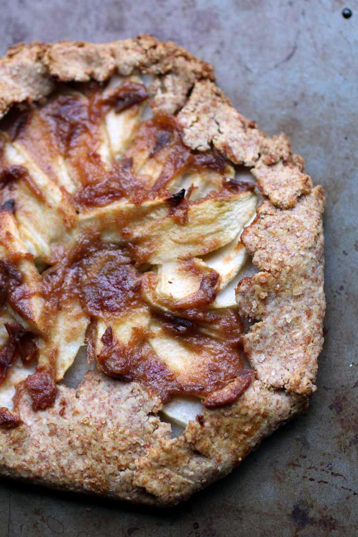 Leftover Dough Apple Galette // The Pancake Princess