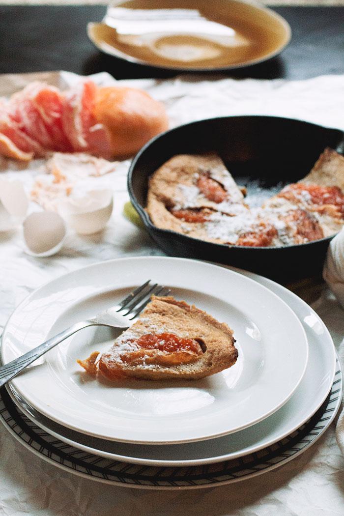 Grapefruit Dutch Baby // The Pancake Princess