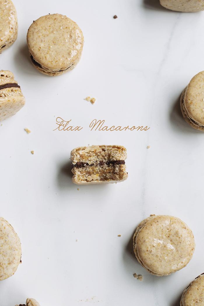 Flax Macarons // The Pancake Princess