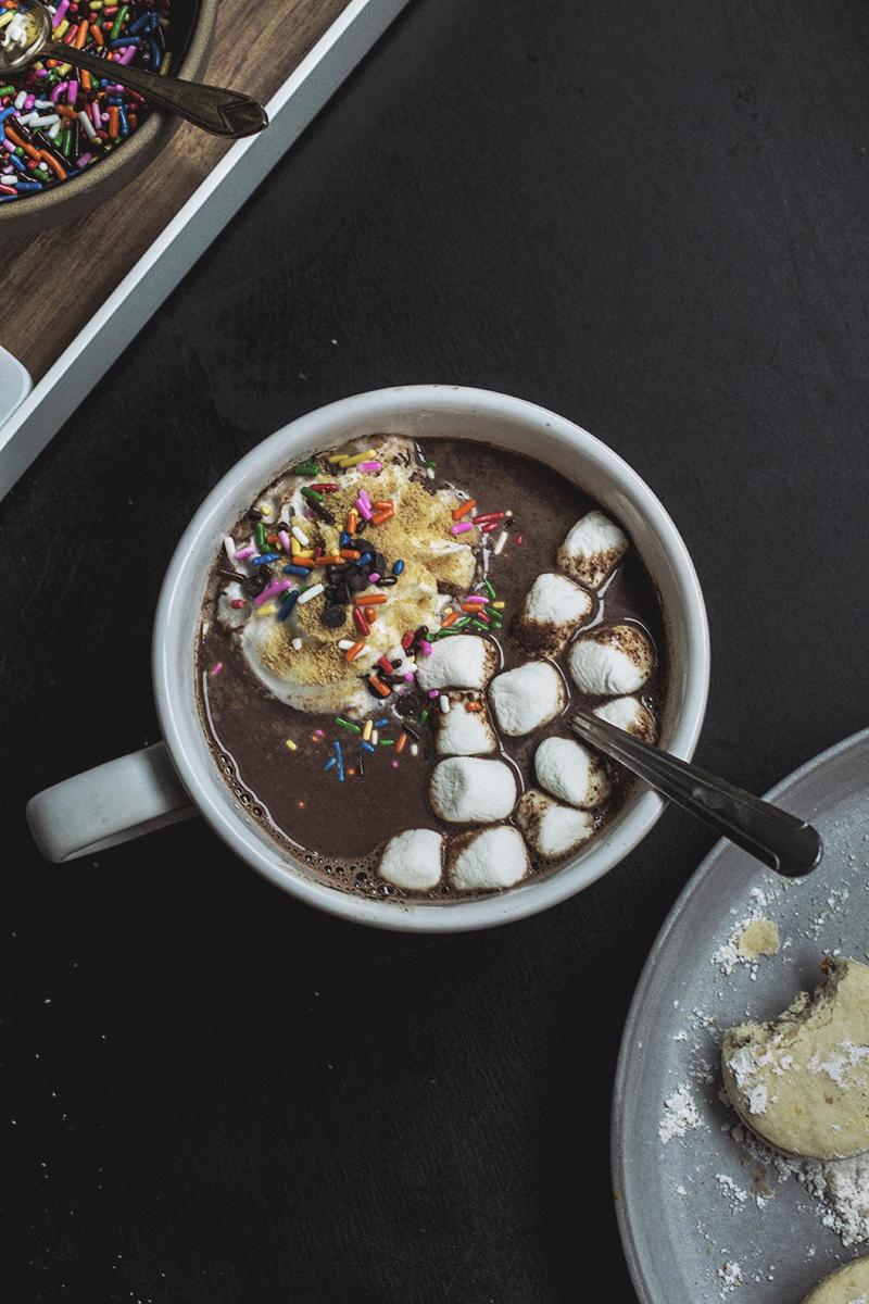 Hot Cocoa Bar // The Pancake Princess