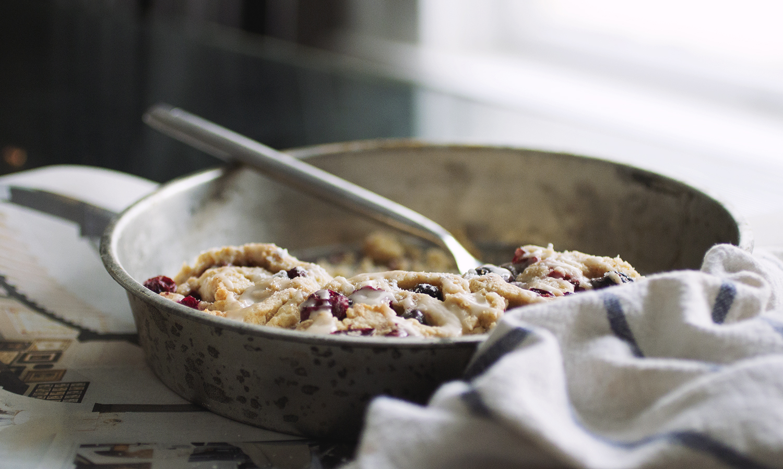 Raspberry Swirl Biscuits // The Pancake Princess