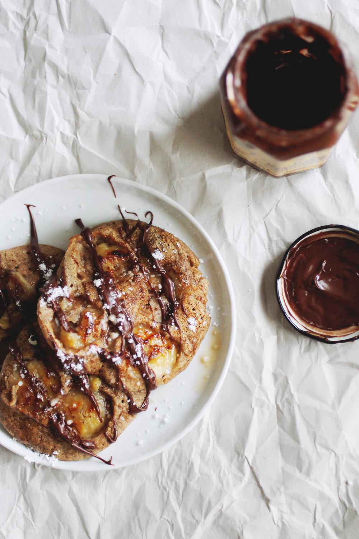 Banana Buckwheat Pancakes // The Pancake Princess