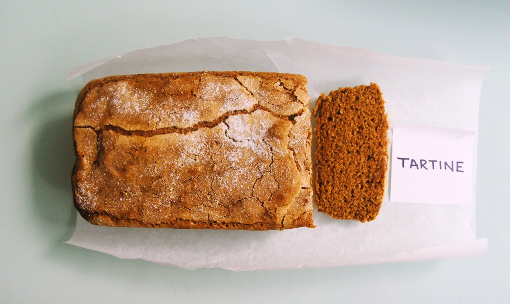 tartine pumpkin bread recipe