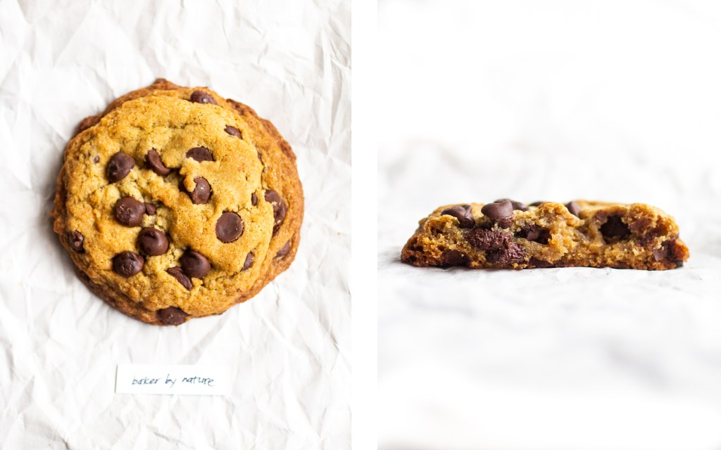baker by nature vegan chocolate chip cookie