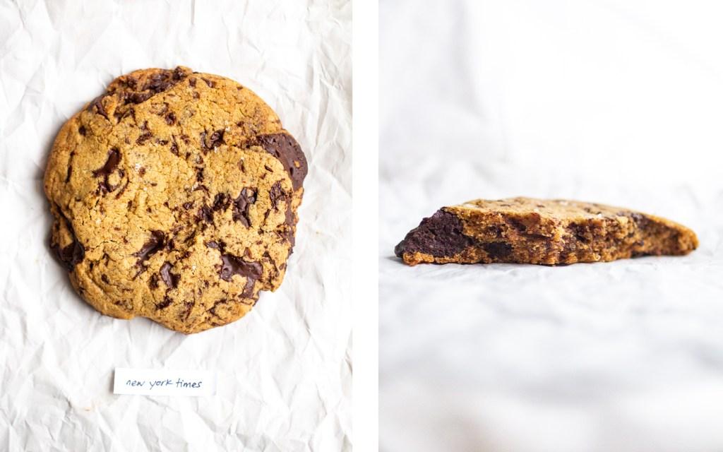new york times vegan chocolate chip cookie