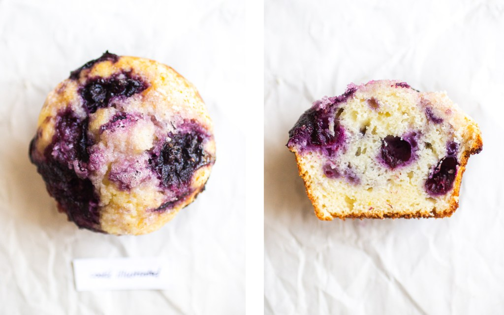 cook's illustrated blueberry muffin