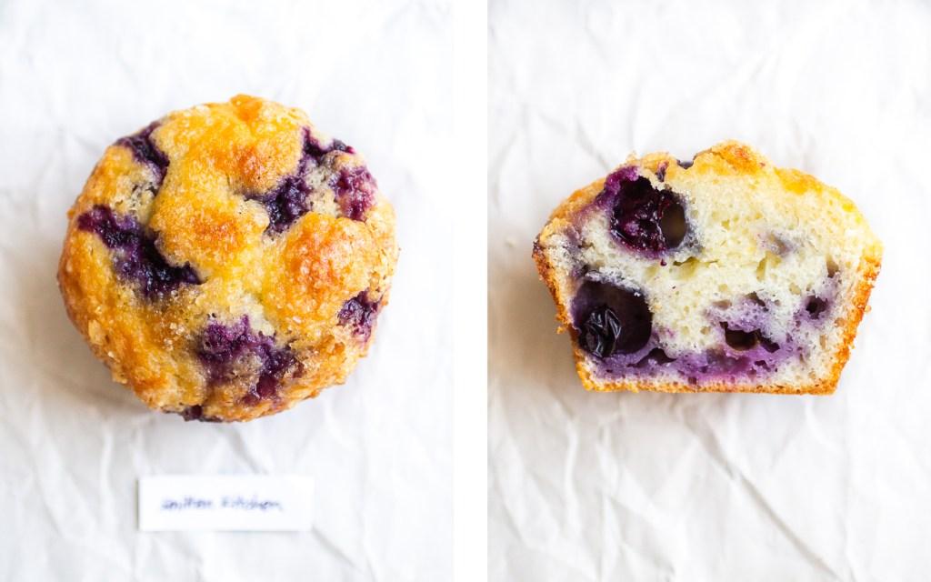 smitten kitchen blueberry muffin