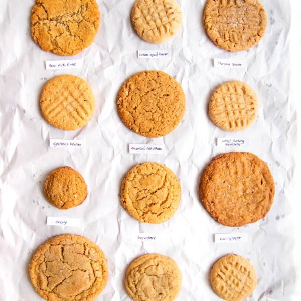 12 peanut butter cookies