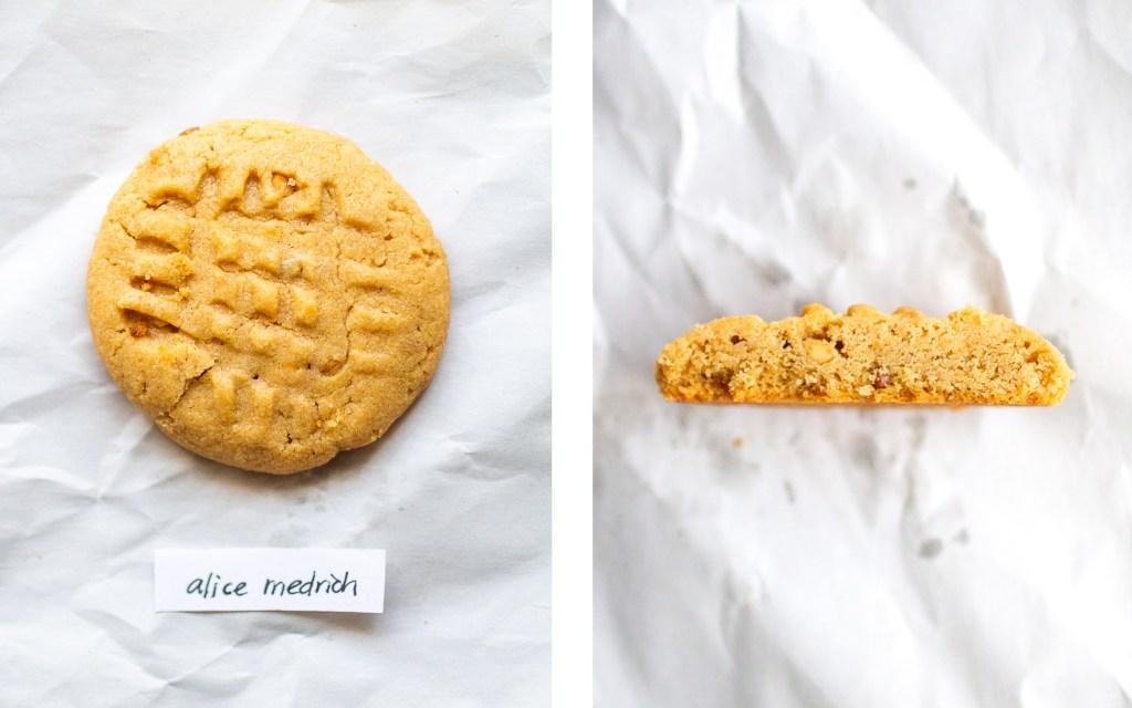 alice medrich peanut butter cookie
