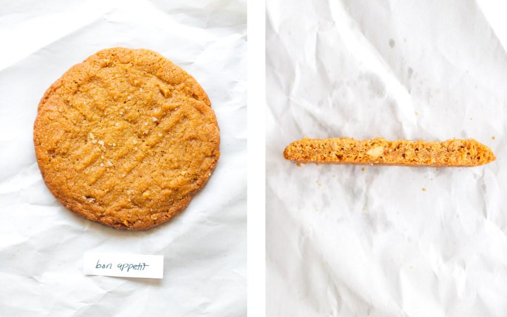 bon appetit peanut butter cookie