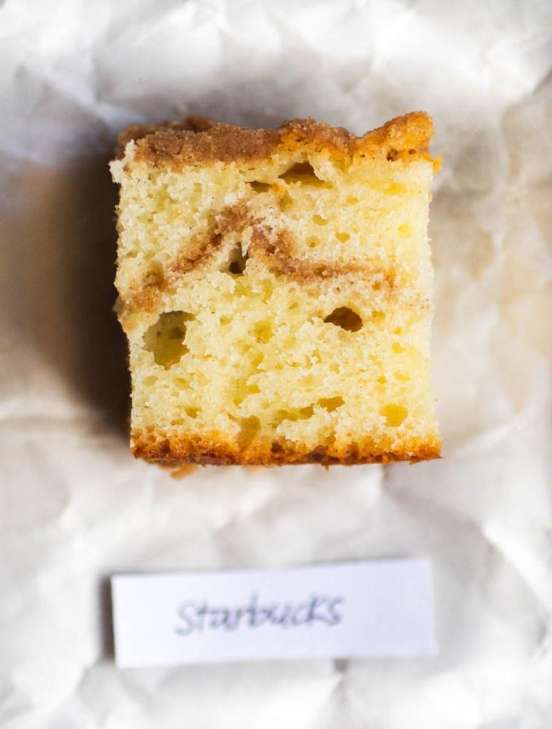Starbucks Coffee Cake // The Pancake Princess