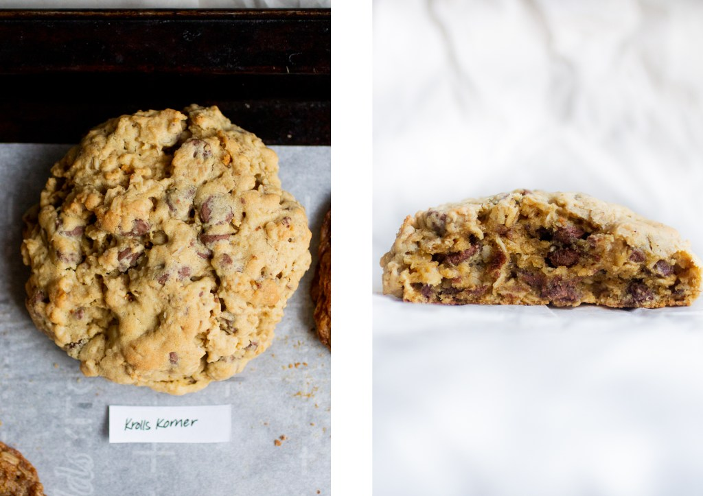 large oatmeal cookie