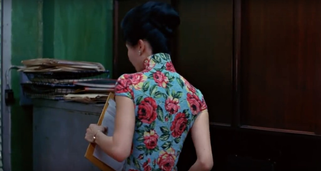 """Obsessed with """"In the Mood for Love""""? The red and blue qipao (cheongsam) from the complete list of 21 qipaos from the film. Click the link for more -"""