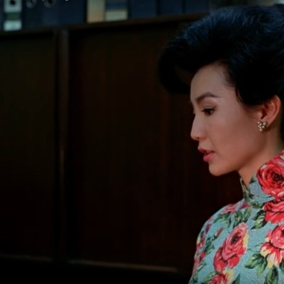 "Obsessed with ""In the Mood for Love""? The red and blue qipao (cheongsam) from the complete list of 21 qipaos from the film. Click the link for more -"
