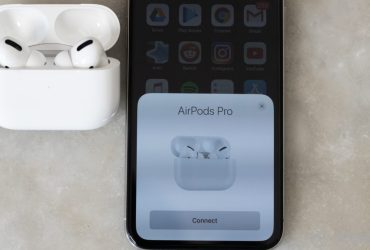 Apple's Airpods Pro + iPhone.