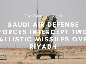 Saudi Air Defense Forces intercept two ballistic missiles over Riyadh