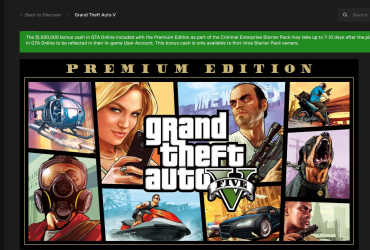 Gta V Free Epic Games Store